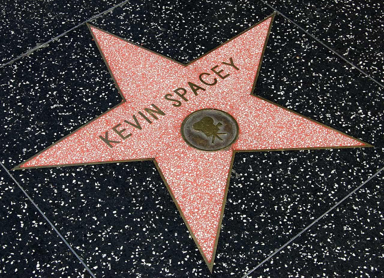Kevin Spacey Zvezda v Hollywoodu