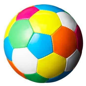 nogometna žoga pisana